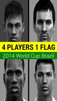 4 Players 1 Flag (OLD) poster