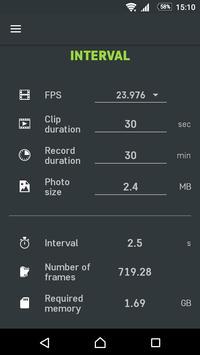 Slidekamera Timelapse Calc. screenshot 3