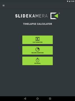 Slidekamera Timelapse Calc. screenshot 4