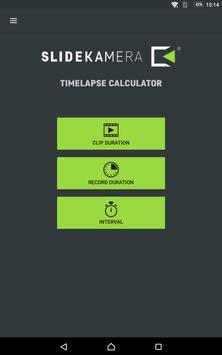 Slidekamera Timelapse Calc. screenshot 8
