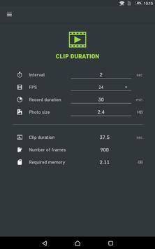 Slidekamera Timelapse Calc. screenshot 9