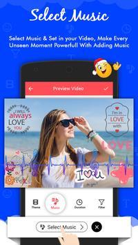 Love Video Maker With Music : Love Slideshow Maker screenshot 5