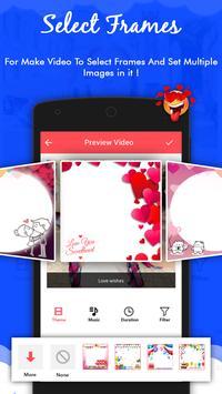 Love Video Maker With Music : Love Slideshow Maker screenshot 1