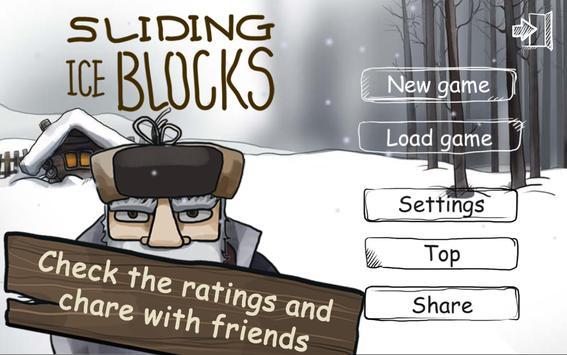 Sliding iceBlocks apk screenshot