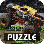 Monster Truck Puzzle Games icon