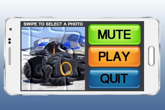 Monster Truck Puzzle Games poster