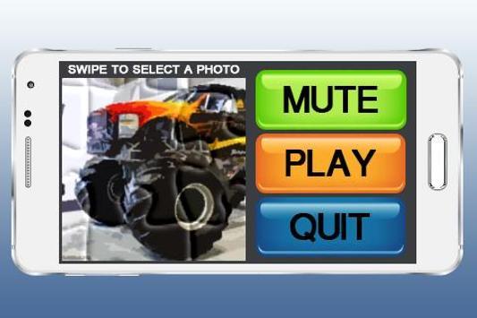 Monster Truck Puzzle Games apk screenshot