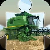 Farm Harvester Puzzle icon