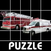 Police Car Firetruck Puzzle icon