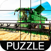 Wheat Harvester Puzzle icon