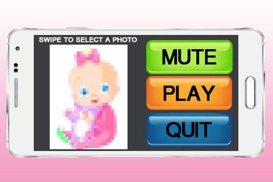 Cute Baby Puzzle poster