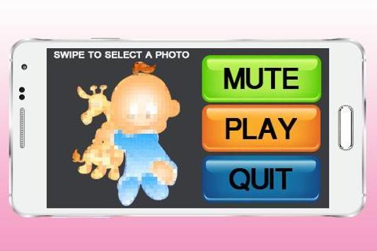 Cute Baby Puzzle screenshot 1