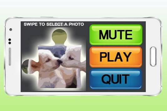 Kids Cute Animal Puzzle poster