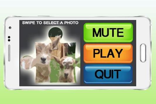 Kids Cute Animal Puzzle apk screenshot