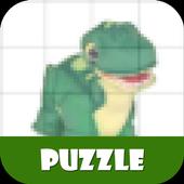 Toy Puzzle Jurassic Dinosaur icon