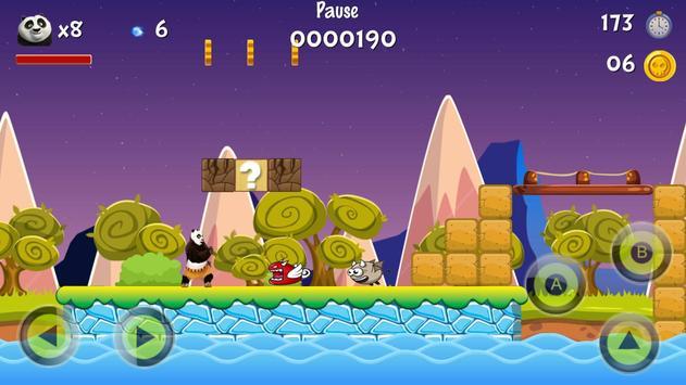 Super Panda Hero Adventure screenshot 1