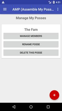 A.M.P (Assemble My Posse) - Group Calendar Invites (Unreleased) screenshot 1