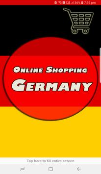 Online Shopping in Germany poster
