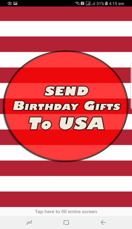 Send Birthday Gifts To USA 2