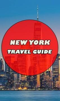 New York City Travel Guide poster