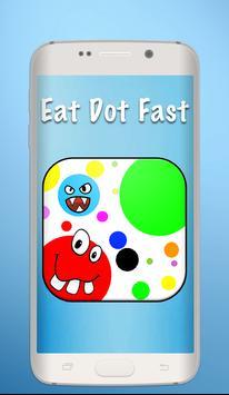 Slither Agar Eat Dot poster