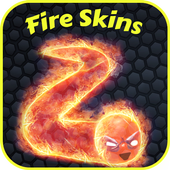 Fire Skins For Slither.io icon