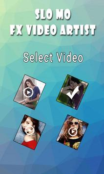 Slo Mo FX Video Artist apk screenshot