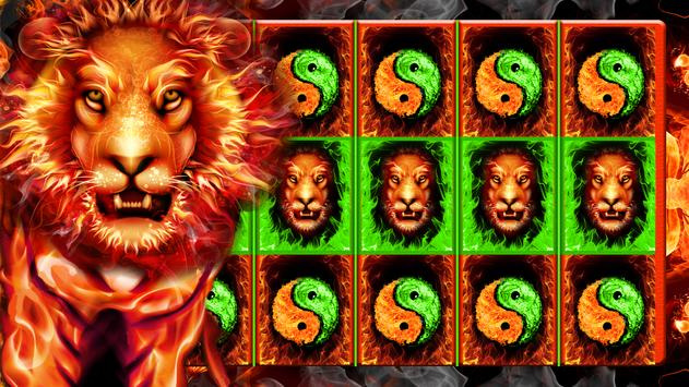 Fire Lion: Free Slots Casino poster