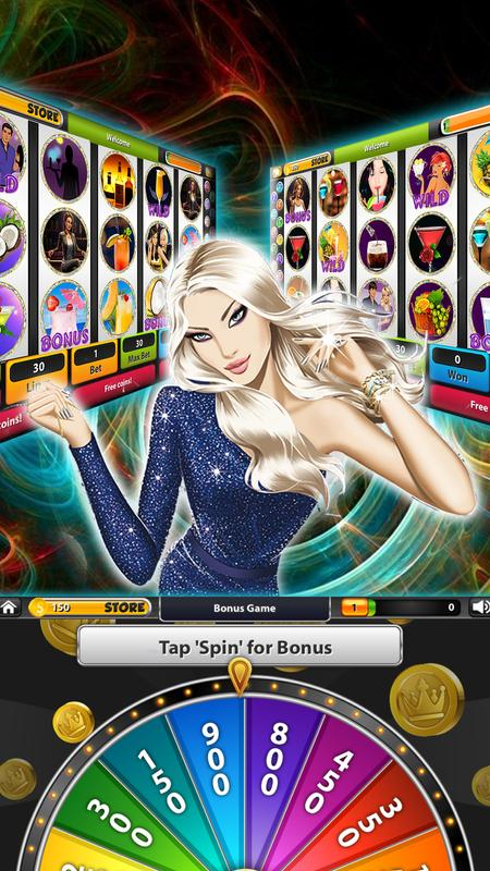 Slot game a night out