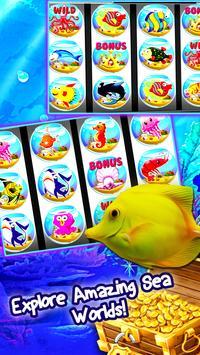 Golden Wild Fish Slots Casino poster