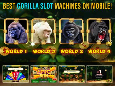 Gorilla Slots Free Slot Casino screenshot 3