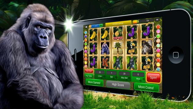 Gorilla Slots Free Slot Casino screenshot 4