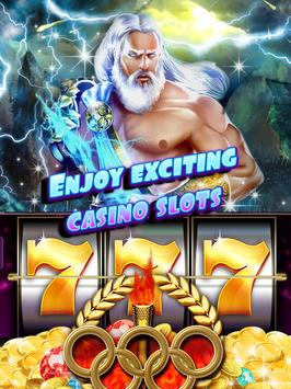 Olympic Zeus Slot Games screenshot 1