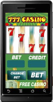 Slot Machine Casino 777 poster