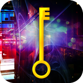 Escape room compound apartment icon