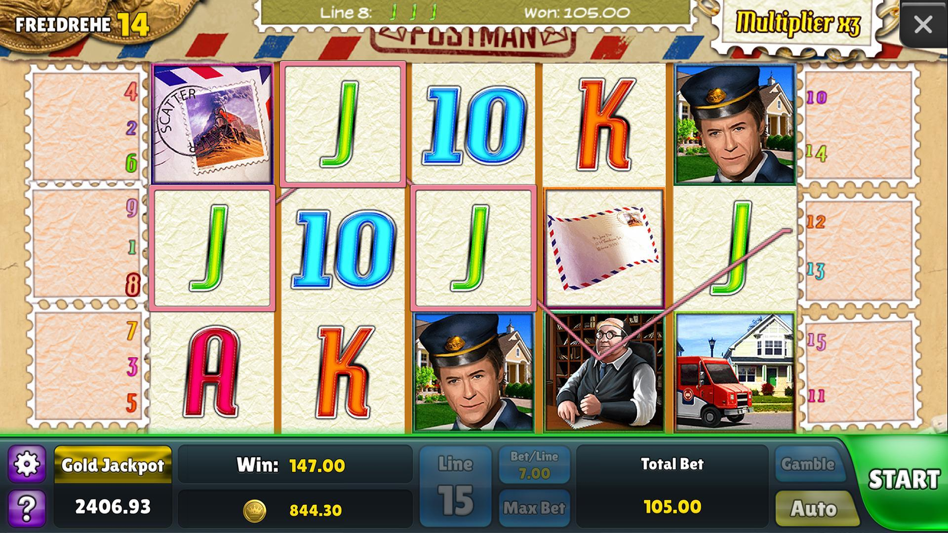 Postman Slots: Free Slot Games for Android - APK Download