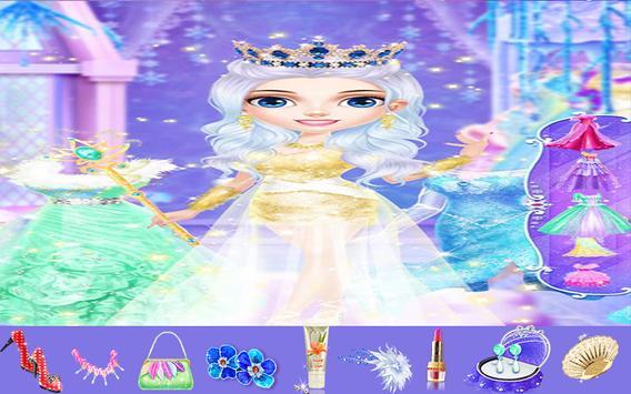 Princess Makeup Dress Up Salon poster