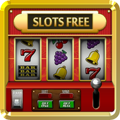 Slots game machines icon