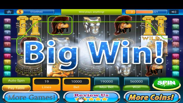 Slots Caesar War for Rome for Android - APK Download