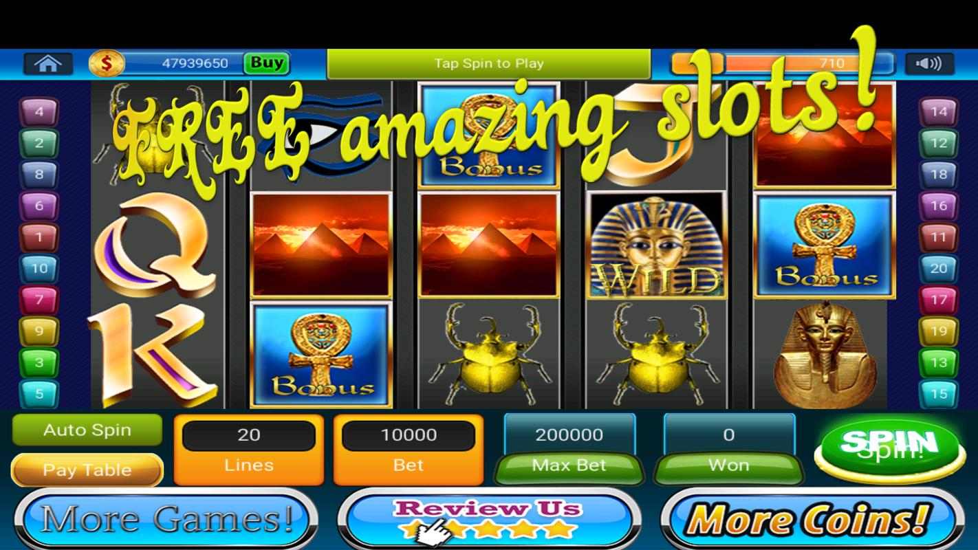 Cleopatra slot for android