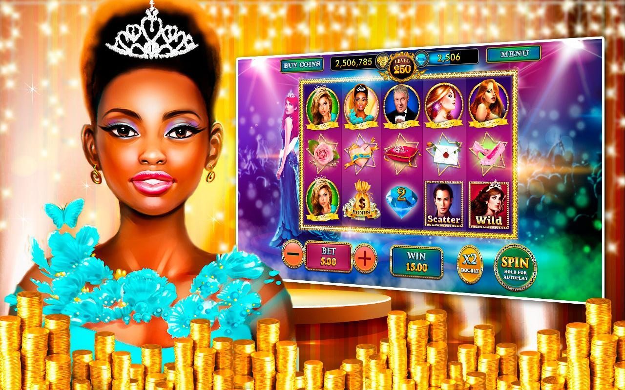 Beauty Pageant Casino Slots HD poster