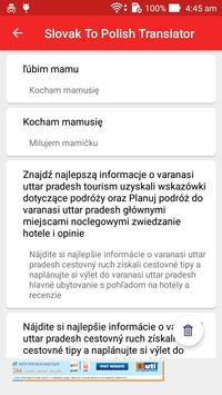 Slovak Polish Translator screenshot 4