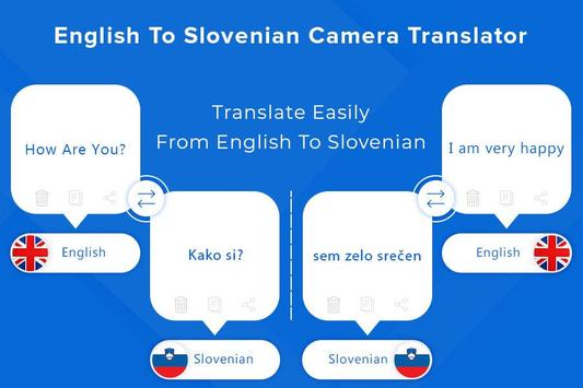Slovenian Camera & Voice Translator poster