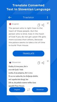 Slovenian Camera & Voice Translator screenshot 5
