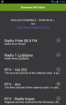 Slovenian FM Online screenshot 1
