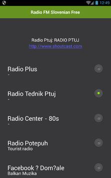 Radio Slovenian Free apk screenshot