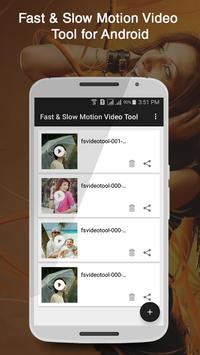 Fast & Slow Motion Video Tool poster