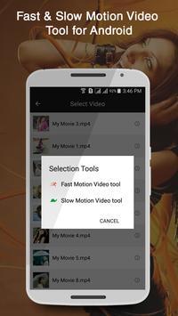 Fast & Slow Motion Video Tool apk screenshot