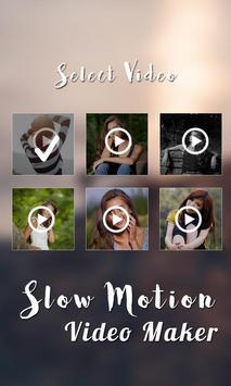 Slow Motion Video Maker screenshot 1