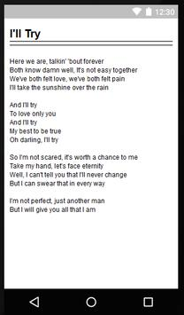 Alan Jackson Fine Lyrics apk screenshot